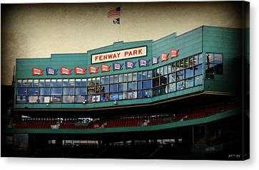 Fenway Memories - 2 Canvas Print by Stephen Stookey