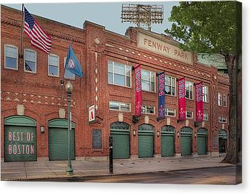 Fenway Park - Best Of Boston Canvas Print by Susan Candelario