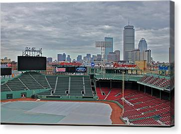 Fenway Park Boston Canvas Print by Amazing Jules