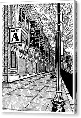 Fenway Park-boston Canvas Print