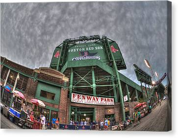 Fenway Park Canvas Print by Joann Vitali