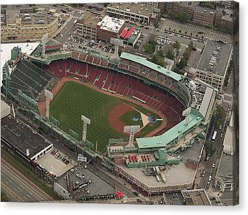 Fenway Park Canvas Print by Joshua House