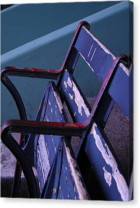 Fenway Park Third Base Seat Canvas Print