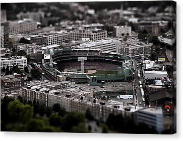 City-scapes Canvas Print - Fenway Park by Tim Perry