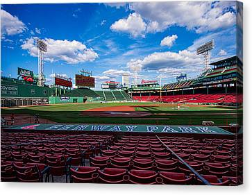 Fenway Park Canvas Print by Tom Gort
