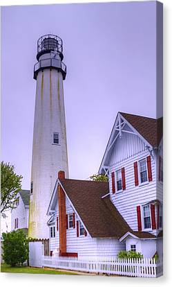 Fenwick Island Lighthouse Canvas Print by David Byron Keener