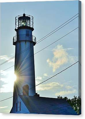 Fenwick Island Lighthouse - Delaware Canvas Print by Kim Bemis