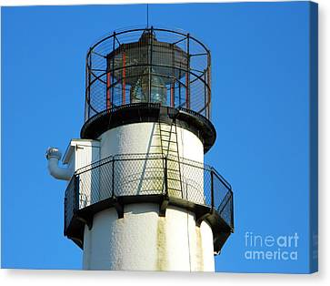 Fenwick Island Lighthouse Canvas Print by William Fuhrer
