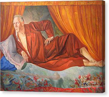 Feodor Chaliapin Canvas Print by Celestial Images