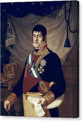 Ferdinand Vii Of Spain 1784-1833. King Canvas Print by Everett