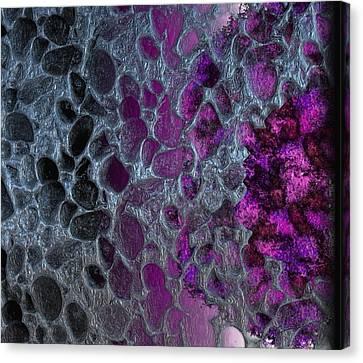 Fermentation Under Metallic Skin Canvas Print by Michael Hurwitz