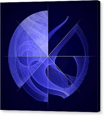 Fermi Gamma-ray Space Telescope Orbits Canvas Print by Science Source