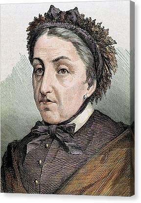 Fernan Caballero (1796 -1877 Canvas Print by Prisma Archivo