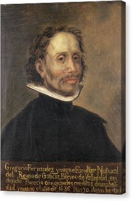 Fernandez, Gregorio 1576-1636. Spanish Canvas Print