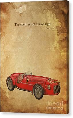 Ferrari 166s Canvas Print by Pablo Franchi