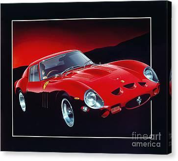 Ferrari 250 Gto Canvas Print by Gavin Macloud