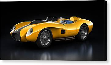 Ferrari 250 Testa Rossa - Bloom Canvas Print