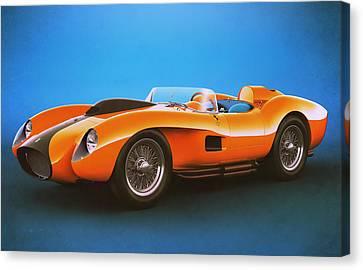 Ferrari 250 Testa Rossa - Vintage Racing Canvas Print