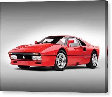 Canvas Print featuring the photograph Ferrari 288 Gto by Gianfranco Weiss