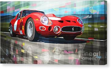 Ferrari 330 Gto 1962 Canvas Print by Yuriy Shevchuk