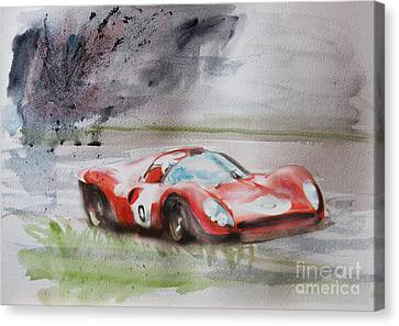Ferrari 330p4 Spyder  Canvas Print