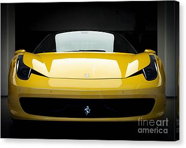 Ferrari 458 Canvas Print by Matt Malloy