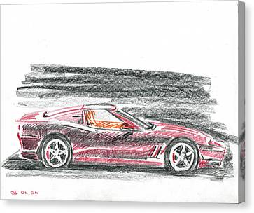 Ferrari 550 Canvas Print by Ildus Galimzyanov