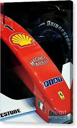Ferrari  Canvas Print by Andres LaBrada