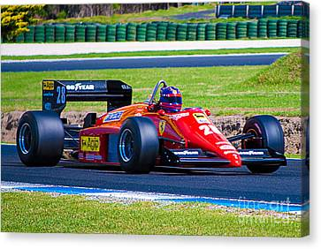 Ferrari At Phillip Island Canvas Print