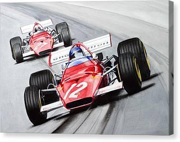 Ferrari  F1 1970 Canvas Print
