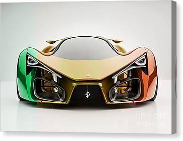 Ferrari F80 Canvas Print by Marvin Blaine
