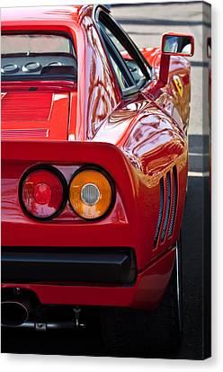 Ferrari Gto 288 Taillight -0631c Canvas Print by Jill Reger
