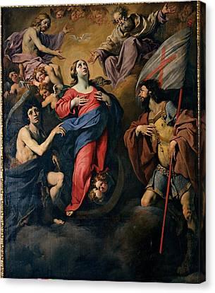 Ferrari Luca, Our Lady Canvas Print by Everett