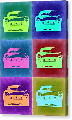 Ferrari Pop Art 2 Canvas Print by Naxart Studio