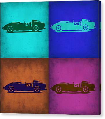 Ferrari Testa Rossa Pop Art 1 Canvas Print by Naxart Studio