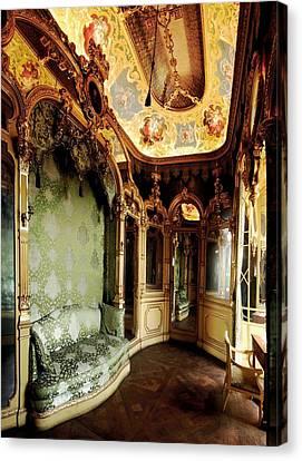 Dressing Room Canvas Print - Ferri Domenico, Capello Gabriele, The by Everett