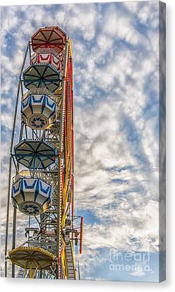 Ferris Wheel Canvas Print by Antony McAulay