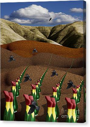 Fertile Ground Canvas Print by Keith Dillon