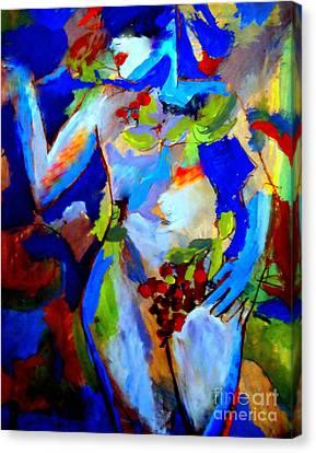 Fertility Canvas Print by Helena Wierzbicki