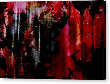Canvas Print featuring the digital art Festival  by Aurora Levins Morales