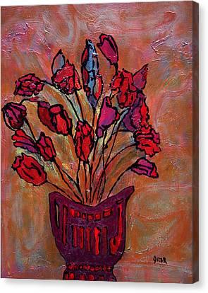 Still Life Canvas Print - Festive I  by Oscar Penalber