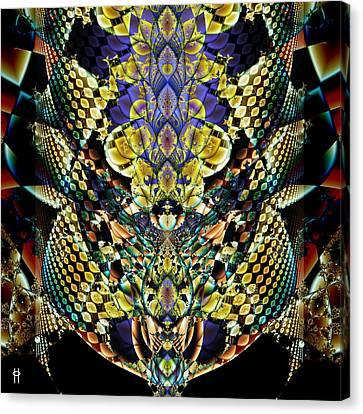 Festooned Canvas Print by Jim Pavelle