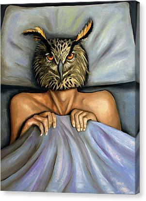 Fetish Nightmare 2 Canvas Print by Leah Saulnier The Painting Maniac