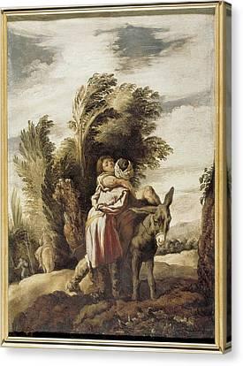 Fetti, Domenico 1588-1623. The Good Canvas Print by Everett