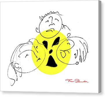 Fukushima Canvas Print - Fg 7 Fukushima by Theo Danella