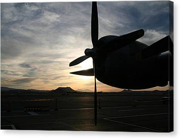 Canvas Print featuring the photograph Fi-fi Power by David S Reynolds