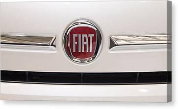 Fiat Logo Canvas Print by Valentino Visentini