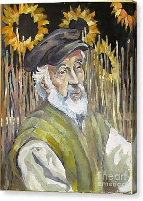 Fiddler On The Roof Canvas Print by Michael Vaisman