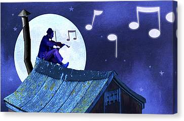 Fiddler On The Roof Canvas Print
