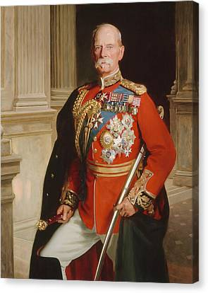 Field Marshal Lord Roberts Of Kandahar Canvas Print